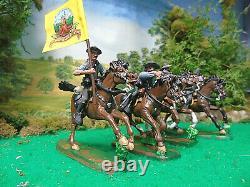 Hand Painted Tssd CIVIL War Cavalry