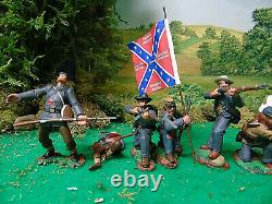 Hand Painted Tssd- Cts- Andy Guard CIVIL War Soldiers