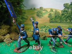 Hand Painted Tssd-cts-andy Guard CIVIL War Soldiers
