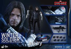 Hot Toys 1/6 Scale Captain AmericaCivil War Winter Soldier MMS351