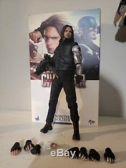 Hot Toys Captain America Civil War Winter Soldier Bucky Barnes MMS351 1/6