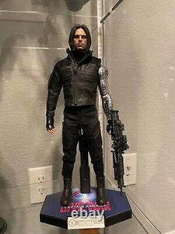 Hot Toys Civil War Captain America Bucky Barnes Winter Soldier 12 inch Action Fi