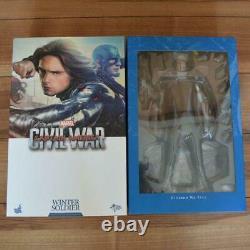 Hot Toys Figure / Civil War Winter Soldier Bucky Good condition #8
