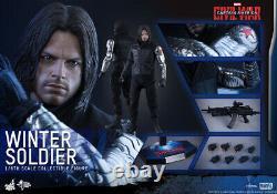Hot Toys MMS351 1/6 BUCKY Captain America Civil War Winter Soldier