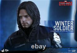 Hot Toys MMS351 Captain America- Civil War Winter Soldier 2.0 1/6 Figure INSTOCK