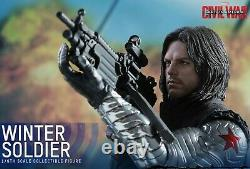 Hot Toys MMS351 Winter Soldier Bucky Civil War Marvel 1/6 New / Sealed / Mint