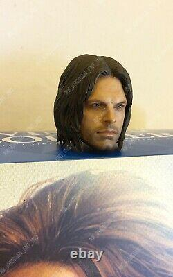 Hot Toys MMS351 Winter Soldier Civil War Bucky action figure's 1/6 head sculpt