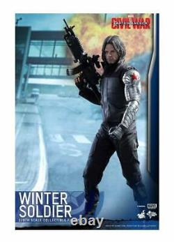 Hot Toys MMS 351 Captain America 3 Civil War Winter Soldier Bucky