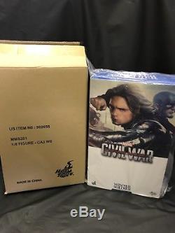 Hot Toys Marvel Winter Soldier 1/6 Figure Captain America Civil War