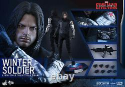 Hot Toys Winter Soldier Captain America Civil War MMS351 New in Box