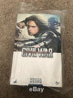 Hot toys civil war winter soldier