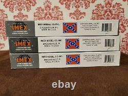 IMEX 1/32 American Civil War Confederate Canon Set 3 sets No 779, 780 & 781