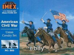 Imex 1/72 Union Cavalry American Civil War # 503