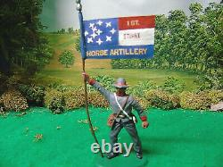 Imex CIVIL War Artillery Crew And Infantry