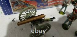 Imperial Toy Soldiers American Civil War A2A Confederate Artillery Set Special