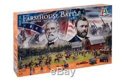 Italeri 1/72 American Civil War 1864 Farmhouse Battle Diorama Playset 6179 NEW