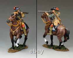 KING AND COUNTRY Cavalier Shooting, English Civil War PnM056