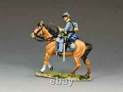 KING AND COUNTRY Confederate Cavalry Trooper Loading Carbine, US Civil War CW111