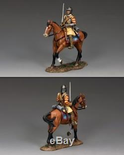 KING AND COUNTRY English Civil War Mounted Roundhead with Sword PnM045