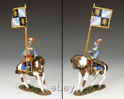 KING AND COUNTRY English Civil War Royalist Mounted Flagbearer PnM059