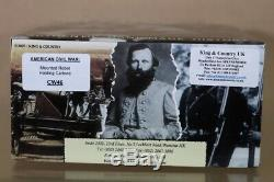 KING & COUNTRY CW046 AMERICAN CIVIL WAR MOUNTED CONFEDERATE HOLDING CARBINE nu