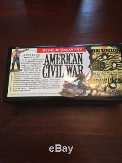 King And Country American CIVIL War Confederate Load, Ready Fire Set Acw10 New