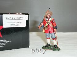 King And Country Pnm019 Parliamentary English CIVIL War Musketeer Standing