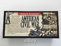 King & Country ACW-08 American Civil War Confederate Infantry The Defenders