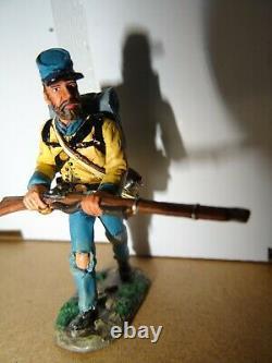 King & Country American Civil War 3 Sets CW19- CW20 & CW22 Rebel Riflemen