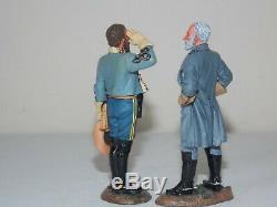 King & Country American Civil War. Lee & Stuart. Set of 2 Figures. CW51