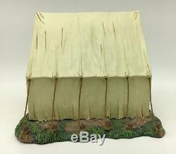 King & Country American Civil War Officers Tent Military Retired CW056