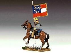 King & Country CIVIL War Cw042 Cavalry Flagbearer Retired Nib