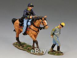 King & Country CIVIL War Cw063 Confederate Prisoner & Union Escort Mib