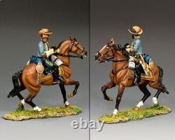 King & Country CIVIL War Cw105 Confederate General J. E. B. Stuart