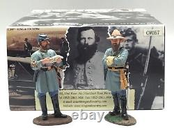 King & Country CIVIL War Generals Stonewall Jackson And James Longstreet Cw057