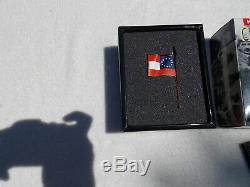 King & Country Civil War CW042 Confederate Cavalry standard bearer 54mm OOP