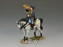 King & Country Civil War Union Bugler CW060 OOP ACW Cavalry