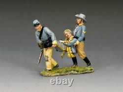 King and Country CW113 Carried Off 1/30 American Civil War Metal Toy Soldiers