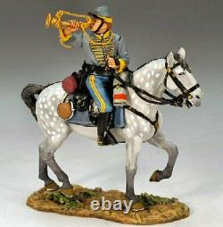 King and Country, Retired, American Civil War, CW041 Bugler Confederate