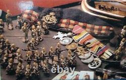 King &country 54mm Civil war Union Flag bearer/+ 2 figs CW093/95 2013 MIB oop