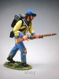 King &country CW020/99 54mm Conf civil war officer+ inf 2 figures 2007 MIB oop