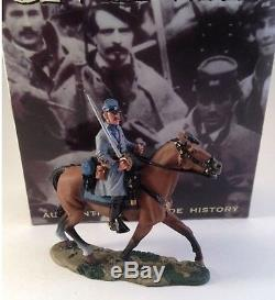 King & country civil war cw013 mounted confederate officer