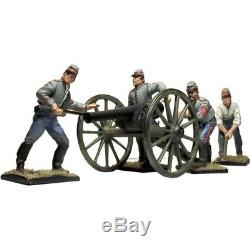 Kronprinz Toy Soldiers American CIVIL War Acw027 Confederate Artillery Set Mib