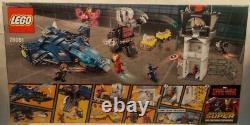 LEGO #76051 Marvel Captain America Civil War Super Hero Airport Battle SEALED