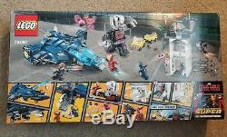 LEGO 76051 Marvel Civil War Super Heroes Super Hero Airport Battle Retired NISB