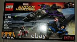 Lego 76047 Captain America Civil War Black Panther Pursuit