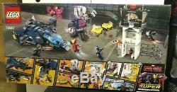 Lego 76051 Marvel Super Hero Airport Battle Civil War NEW