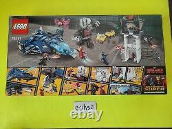 Lego Marvel Super Hero Airport Battle (76051) Civil War Brand New Fast Shipping