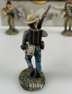 Lot of 3 Conté Collectors American Civil War Toy Soldiers With Rifles 130 Scale