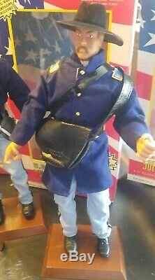 Lot of 7 Civil War Soldiers Of The World 12 Figures with original packaging